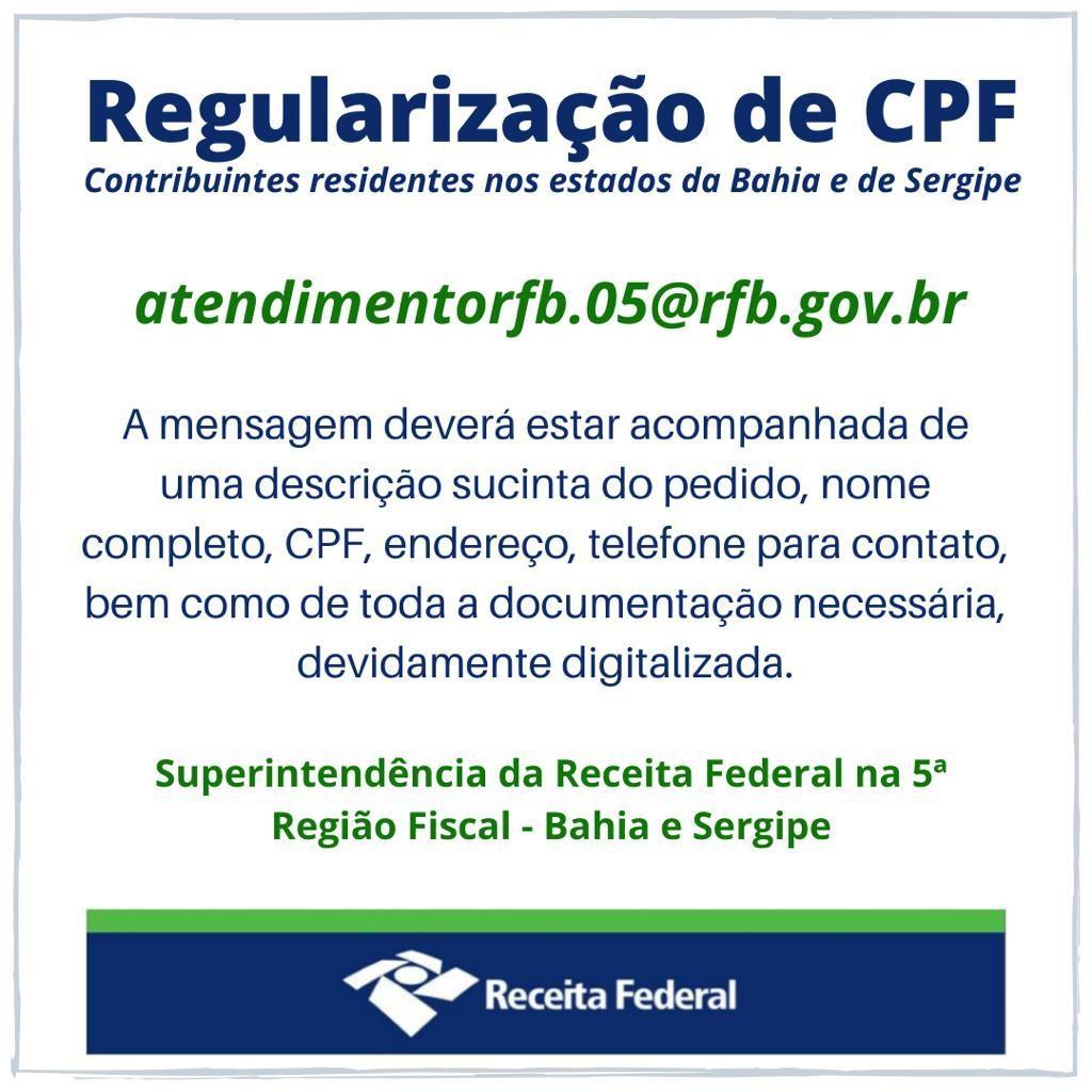 Certidão emergencial é disponibilizada pelo TRE-BA para que eleitores com pendência regularizem CPF