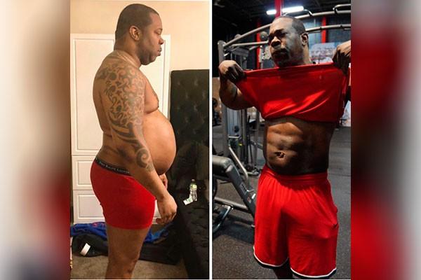 O rapper Busta Rhymes mostra incrível perda de peso (Foto: reprodução instagram)