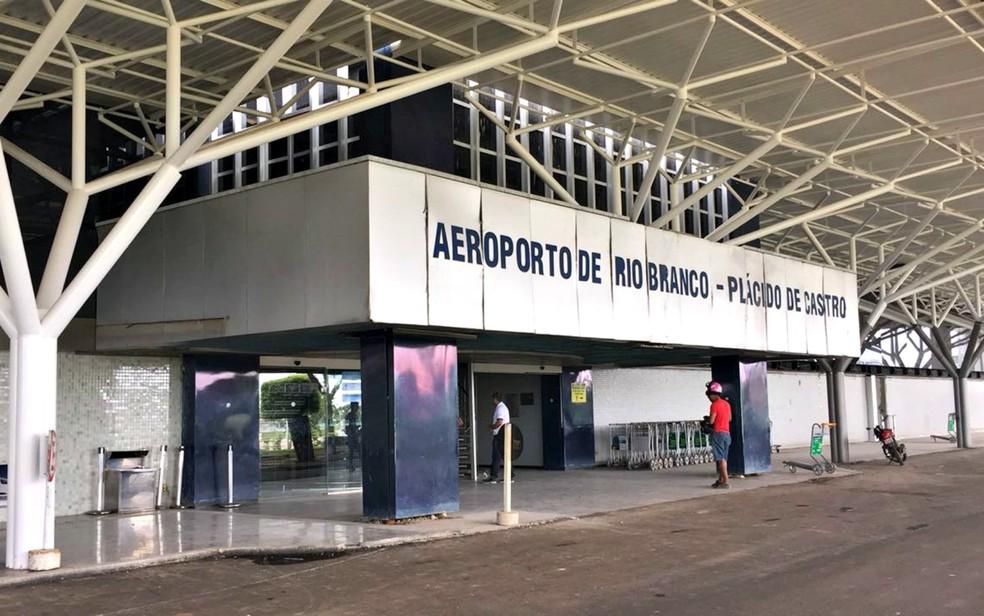 Aeroporto de Rio Branco completou 18 anos de operações  (Foto: Júnia Vasconcelos/Rede Amazônica Acre)