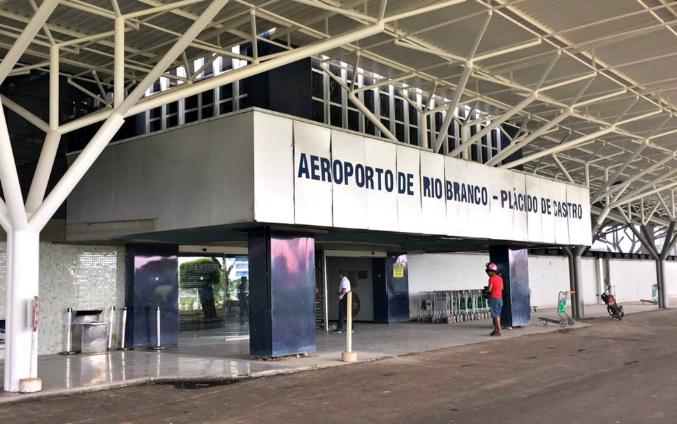 Aeroporto de Rio Branco completou 18 anos de opera��es  (Foto: J�nia Vasconcelos/Rede Amaz�nica Acre)
