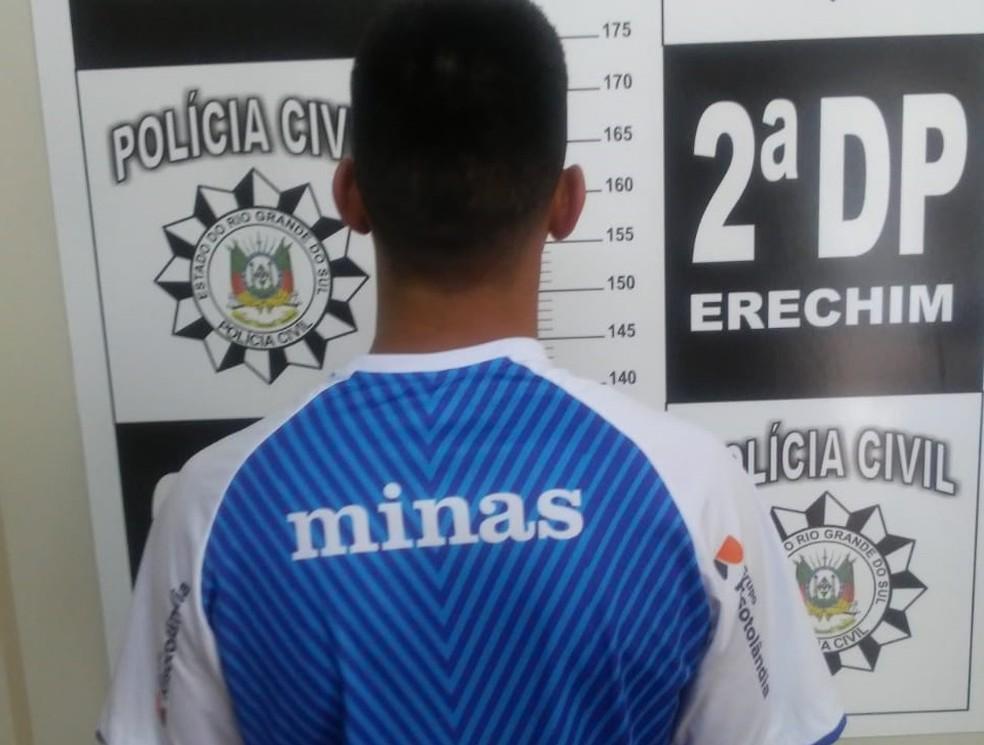 Homem, de 25 anos, teve a prisão preventiva decretada pela Justiça durante a tarde — Foto: Divulgação/Polícia Civil