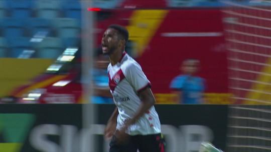 Os gols de Vila Nova 0 x 2 Vitória pela 21ª rodada da Série B do Brasileiro