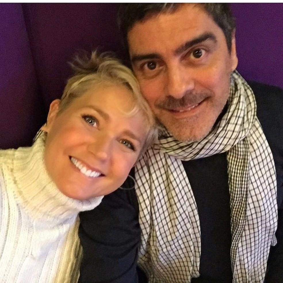 Xuxa e Junno Andrade — Foto: Reprodução/Instagram