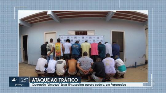 Quadrilha suspeita de tráfico de drogas é presa em Paraopeba, na Região Central de Minas Gerais