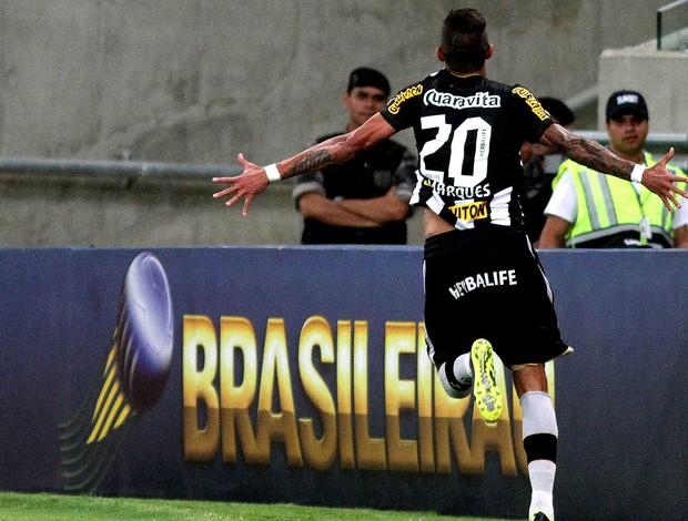 Rafael Marques comemoração Botafogo e Flamengo (Foto: Vitor Silva / SSPress)