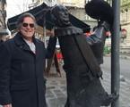 Jósé de Abreu em Budapeste | Arquivo pessoal