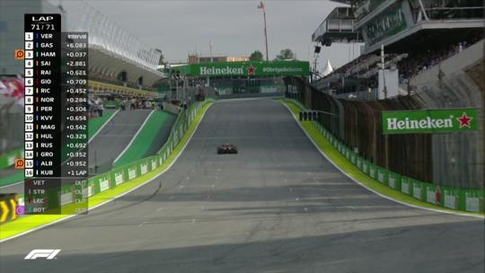 GP do Brasil: Verstappen vence prova com batida entre Ferraris; Hamilton é punido e cai para 7º