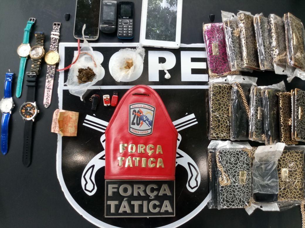 Casal é preso suspeito de vender droga a adolescente na zona Oeste de Boa Vista
