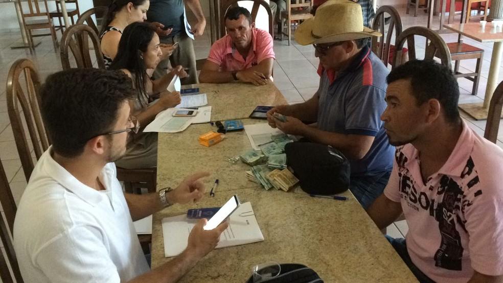 -  Trabalhadores cearenses começaram a receber pagamento nesta sexta-feira  15   Foto: Divulgação / Força-tarefa
