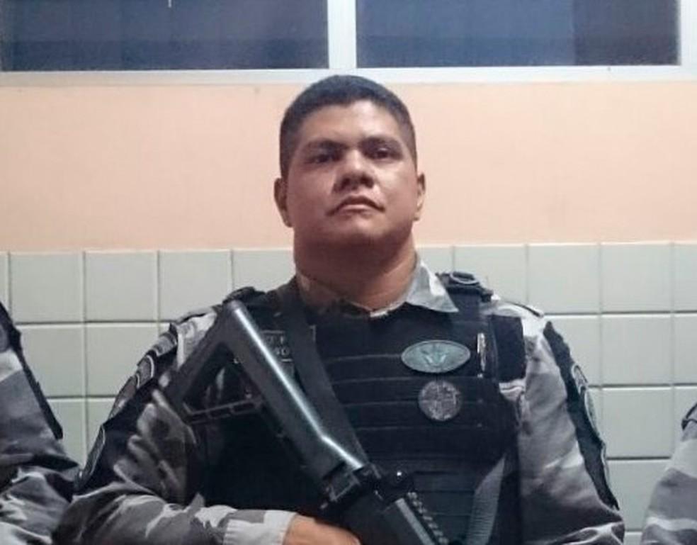-  Sargento Gildson Soares, do GTO, alegou legítima defesa em depoimento na Seccional de Polícia Civil  Foto: Reprodução/Redes Sociais