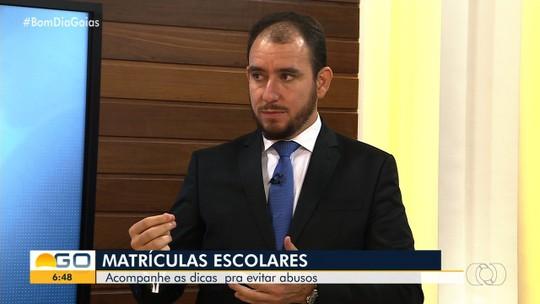 Bom Dia Responde de Goiás fala sobre matrículas escolares