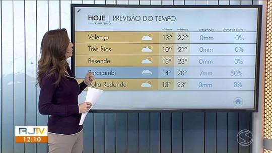 Frente fria se afasta do Sul do Rio e frio se mantém nesta quinta-feira
