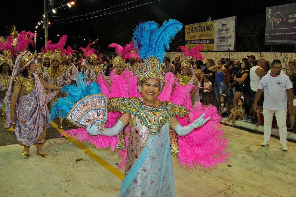 Escola Dragão Imperial é tricampeã do carnaval de Bragança Paulista (Foto: Prefeitura de Bragança Paulista/ Divulgação)