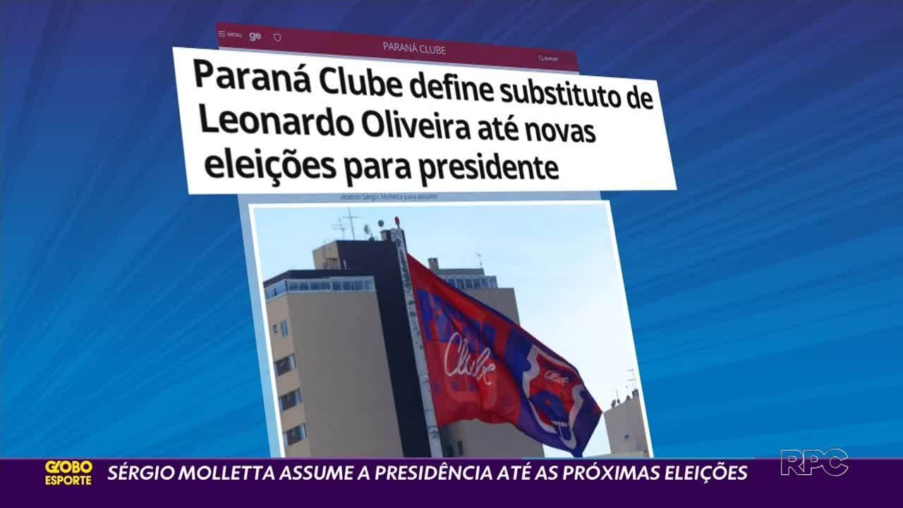 Sergio Moletta assume provisoriamente a presidência do Paraná Clube
