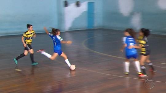 IDFG supera Ômega e é campeão no futsal feminino categoria infanto