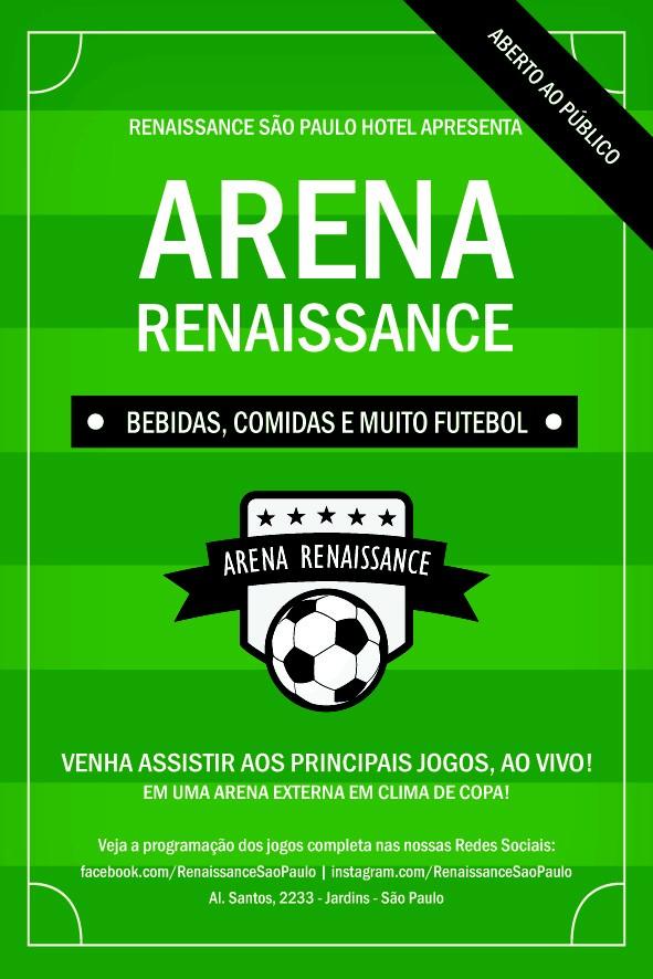 Arena Renaissance (Foto: Divulgação)