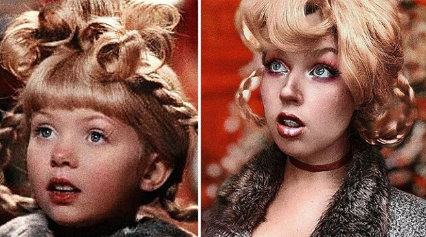 "Cindy Lou Who, do filme ""O Grinch"" (Foto: Instagram/benzoate_ost)"