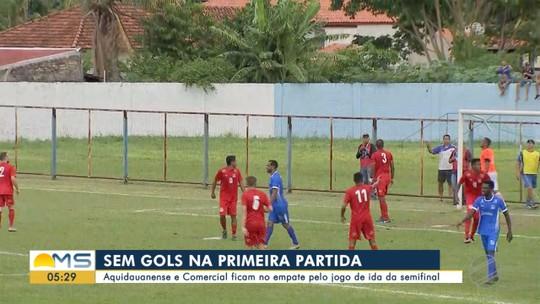 Campeonato Sul-Mato-Grossense: Aquidauanense e Comercial empatam na ida da semifinal