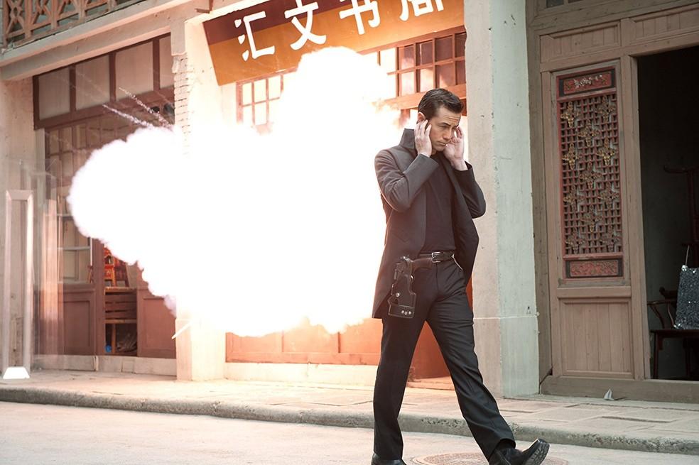 Joseph Gordon-Levitt em cena de 'Looper' (Foto: Divulgação)