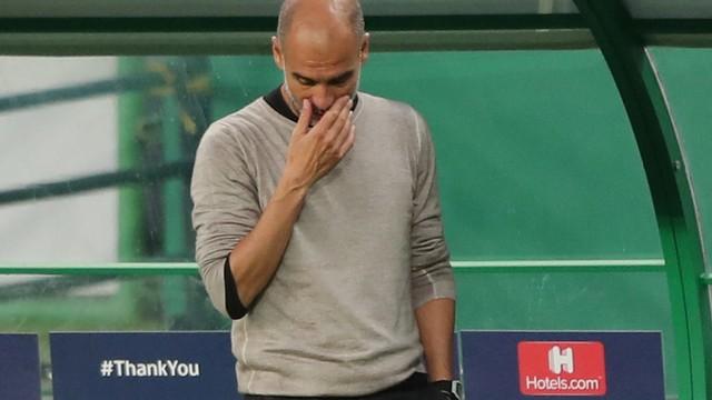 Pep Guardiola para nas quartas de final mais uma vez com o City