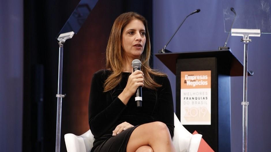 Sandra Haya Chayo, diretora de marketing da Hope, durante o evento Melhores Franquias (Foto: PEGN)