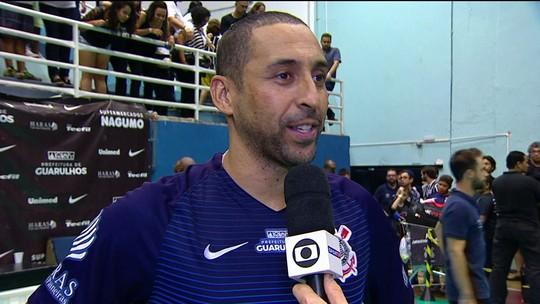 """Após realizar sonho no Corinthians, Serginho diz: """"Só devo jogar mais um ano"""""""