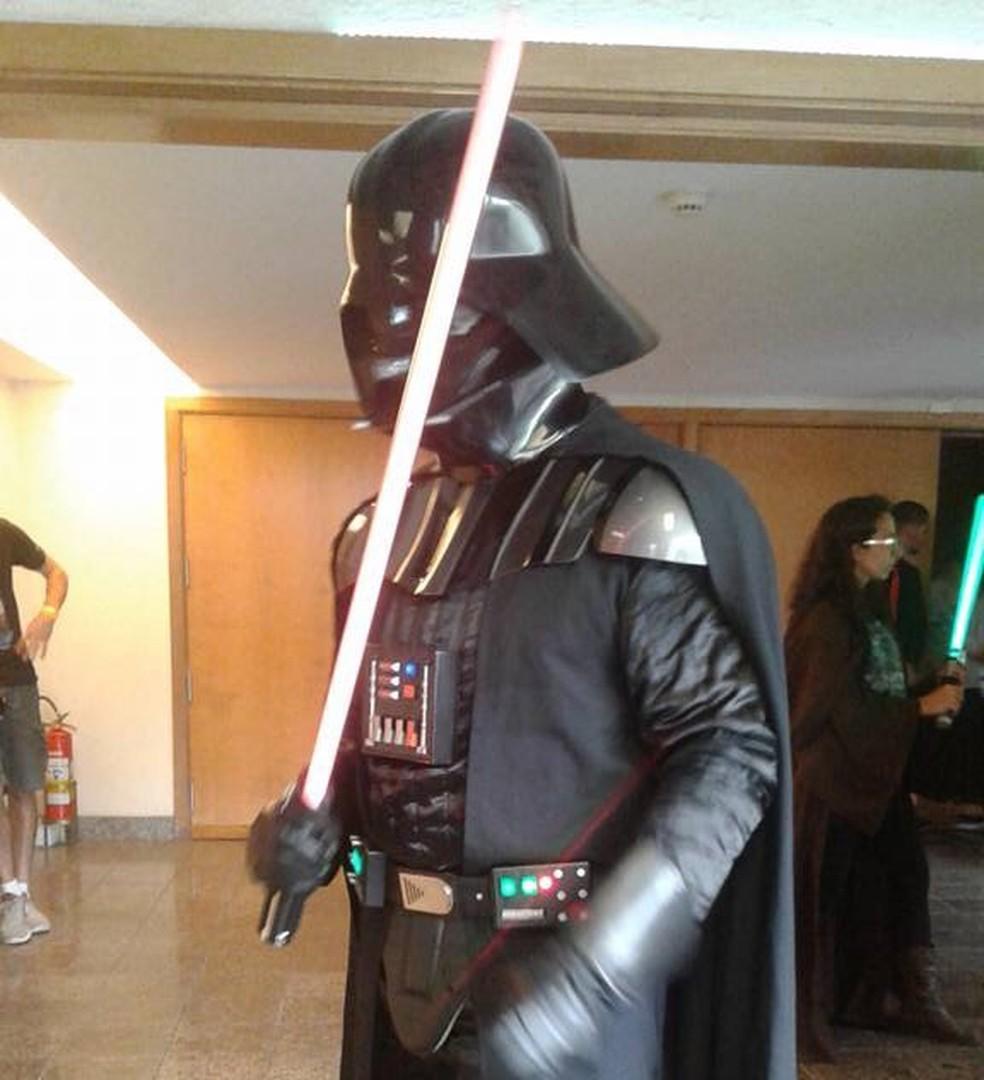 Novo filme da saga Star Wars foi lançado nesta quinta-feira (14) no Brasil (Foto: Alessandra Nascimento/Arquivo pessoal)