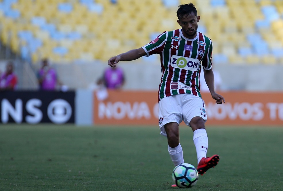 Gustavo Scarpa do Fluminense continua no radar do So Paulo Foto LUCAS MERONFLUMINENSE FC