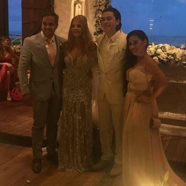 Luísa, Whinderson, Simone e Kaká (Foto: Instagram/Reprodução)