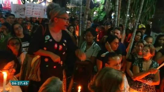 Corpo de professora assassinada a tiros pelo ex-companheiro é sepultado no interior do Ceará