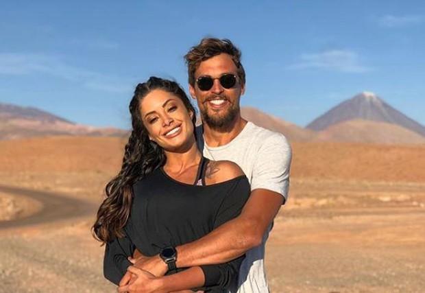 Aline Riscado e Felipe Roque (Foto: Reprodução/Instagram)