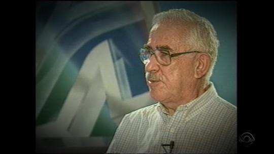 Morre Antônio Abelin, fundador do curso de Comunicação Social e da Rádio da UFSM