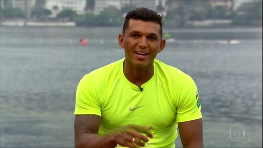 Neste domingo tem desafio de canoagem, no Rio, com Isaquias Queiroz