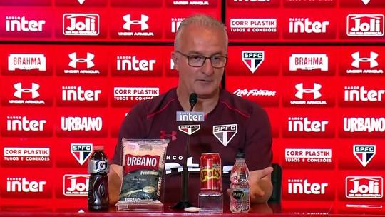 """Dorival comenta encontro com Muricy no São Paulo e brinca sobre pizza: """"Não paga"""""""
