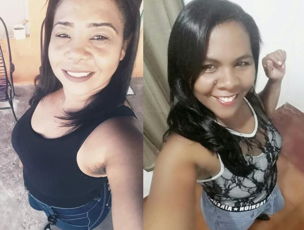 Solange Rodrigues (à esquerda) e Sandra Rodrigues (à direita) morreram com 6 dias de diferença em MT — Foto: Montagem/G1 MT