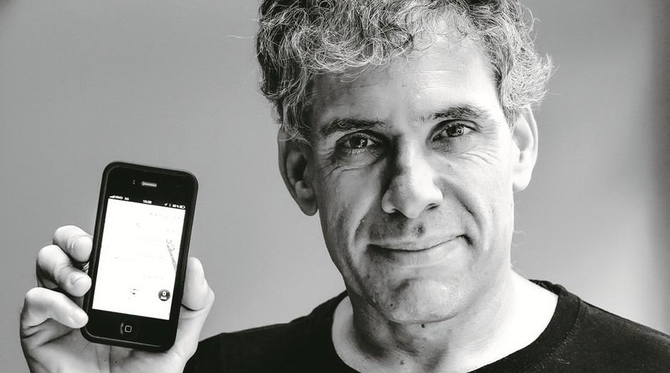 Uri Levine, um dos fundadores do aplicativo Waze (Foto: Agência Estado)