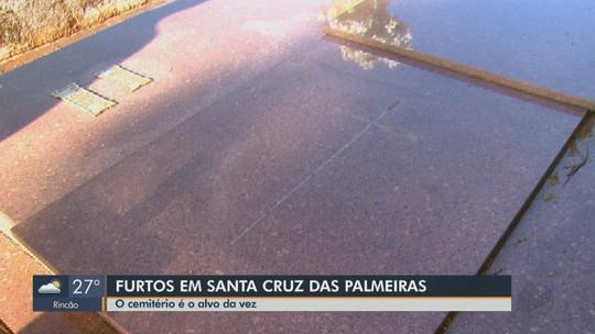 Cemitério Municipal de Santa Cruz das Palmeiras é alvo de furtos e famílias pedem mais segurança