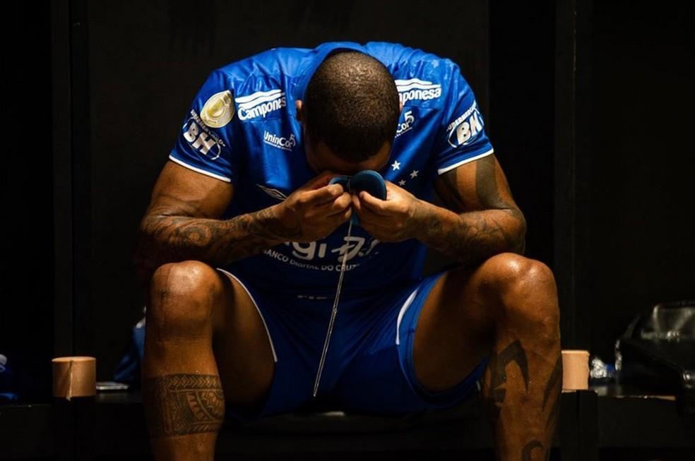 Dedé disse que poderia ter sido útil na reta final da temporada de 2019, quando o Cruzeiro foi rebaixado — Foto: Bruno Haddad/Cruzeiro