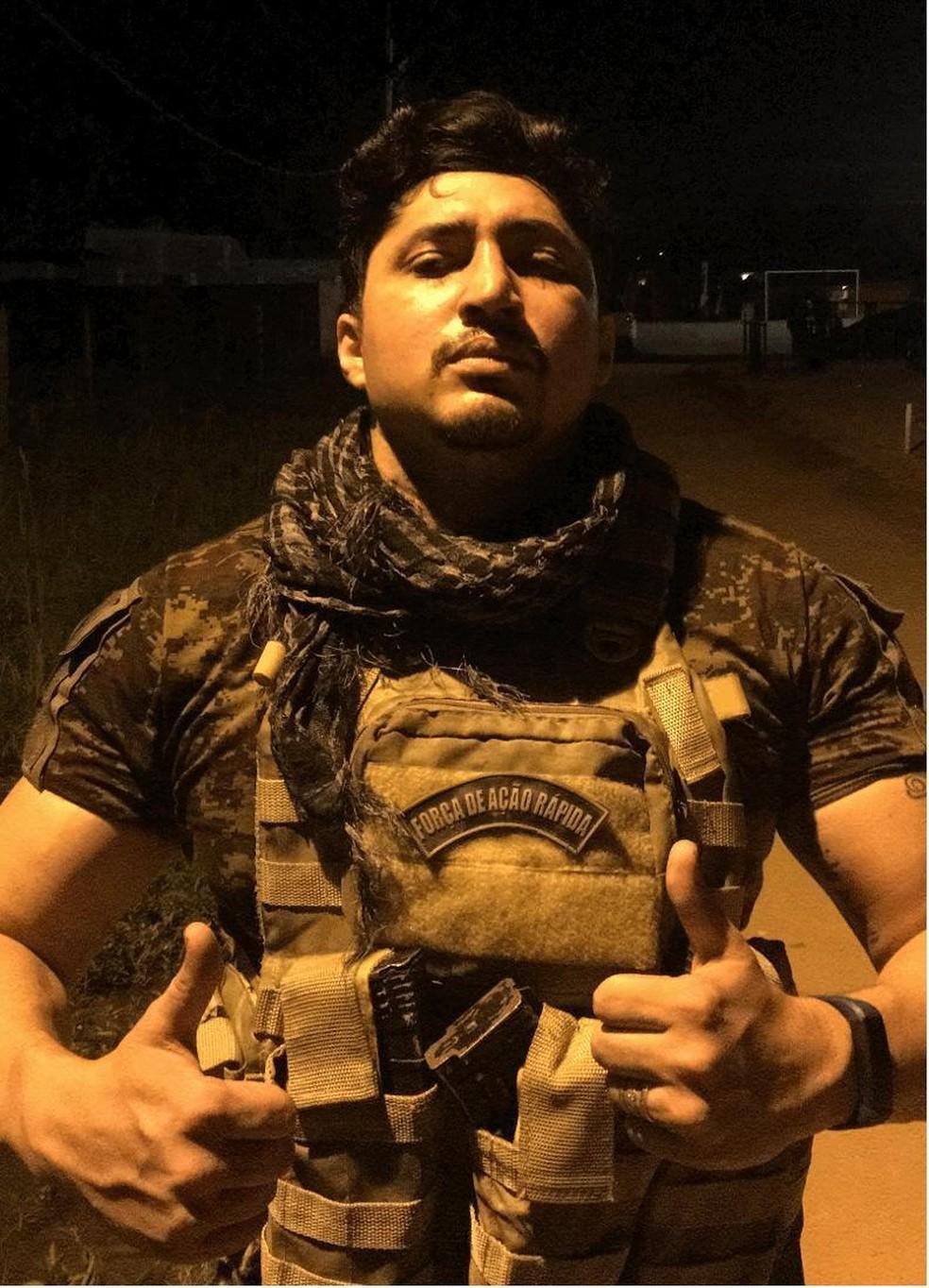 """Francisco Anderson Silva Costa, conhecido como """"Garça"""" ou """"PQD"""" — Foto: Reprodução/Arquivo Pessoal"""