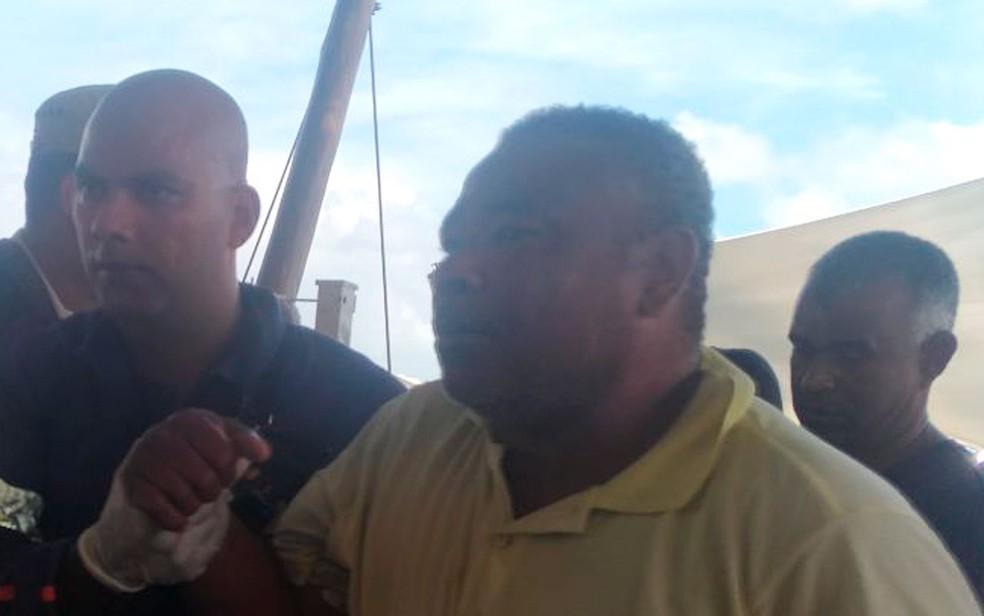 Edvaldo Santos de Almeida é um dos sobreviventes (Foto: Juliana Almirante / G1)