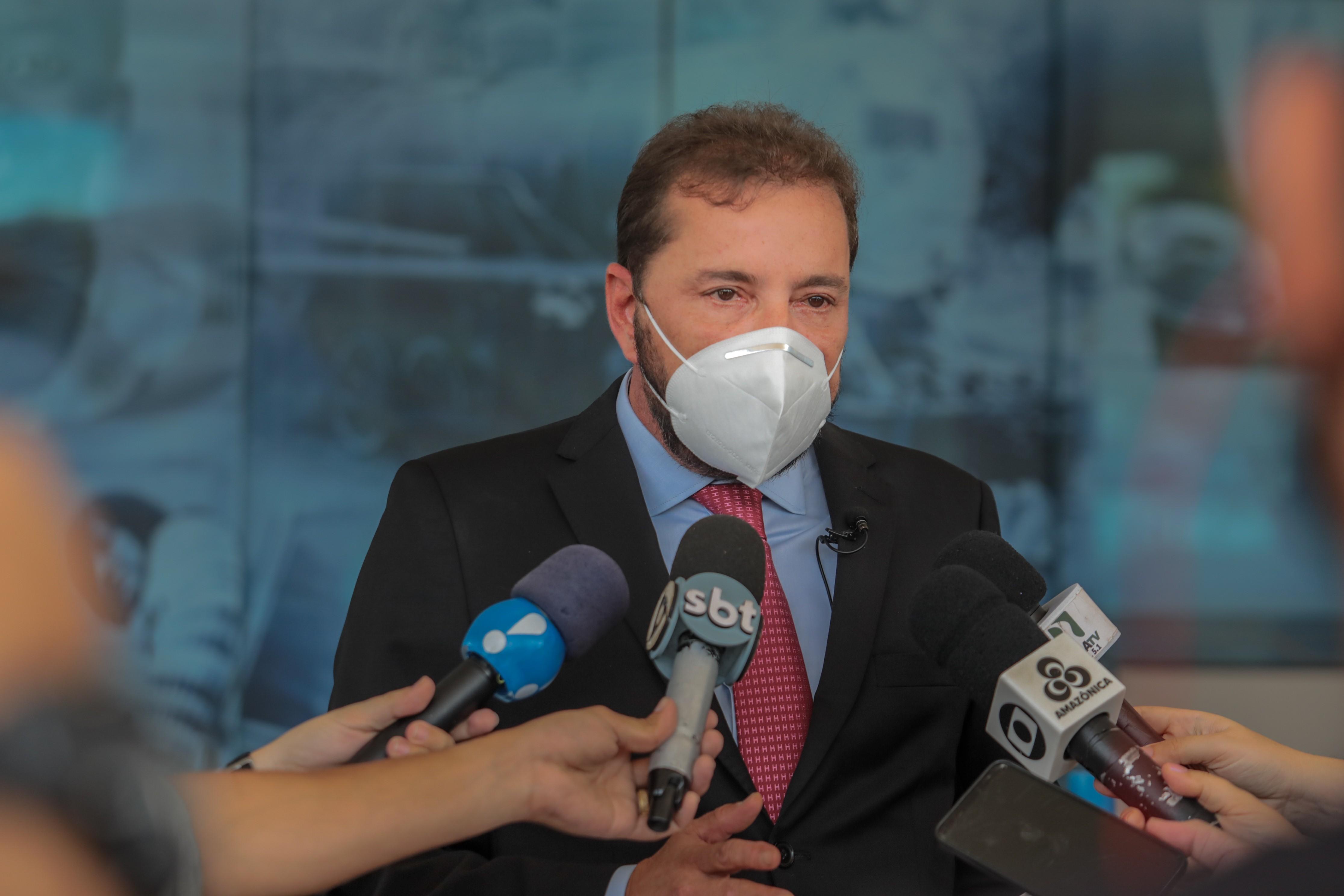 Hildon Chaves anuncia que vai liberar eventos de grande porte em Porto Velho, mas só para os vacinados contra Covid