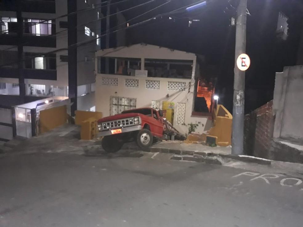Acidente aconteceu nesta terça-feira (11) — Foto: Arquivo Pessoal