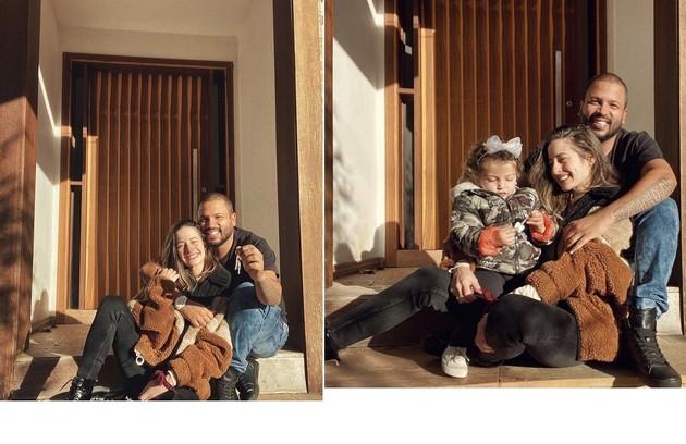 Projota anunciou que comprou uma casa. Segundo a mulher dele, Tâmara Contro, a mudança será em 2022, após reformas (Foto: Reprodução)