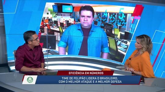 Aproveitamento impressionante do Palmeiras aponta modernização do trabalho de Felipão
