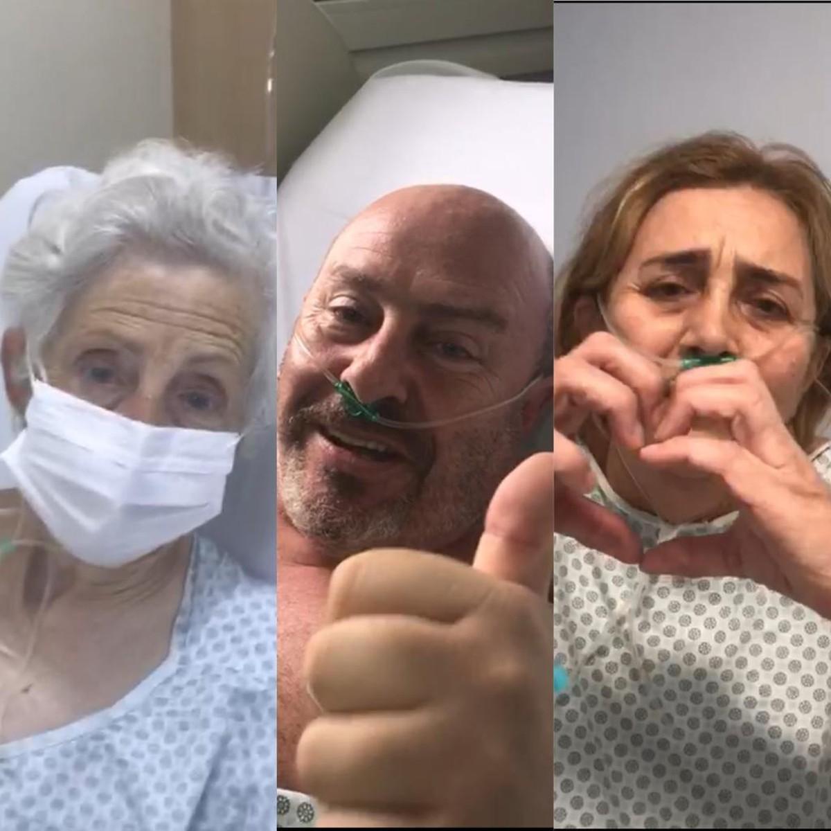 'Falta de ar com sensação de morte', diz mulher que foi internada com marido e sogra por Covid-19