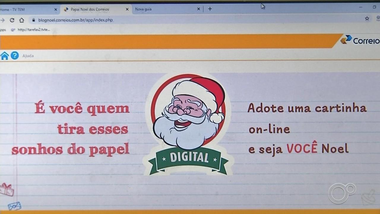 Envio de cartinhas ao Papai Noel terá mudanças neste ano em Itapetininga