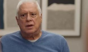 Na segunda-feira (20), Alberto (Antonio Fagundes) será internado à força após contrair uma pneumonia | TV Globo