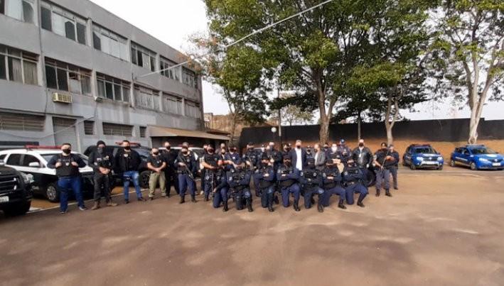 Polícia Civil e GCM de São Carlos fazem operação para coibir receptação de fios e cabos