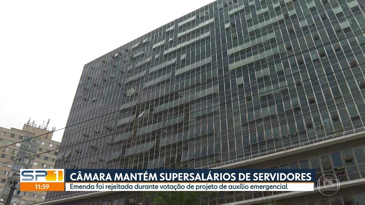 Câmara mantém supersalários de servidores em meio à votação de auxílio emergencial