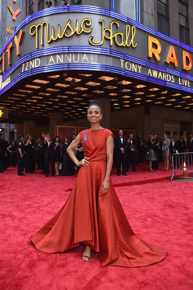 Lauren Ridloff viverá Connie na 9ª temporada da série The Walking Dead (Foto: Getty Images)